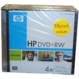 HP DVD+RW / 4X / 10 PACK