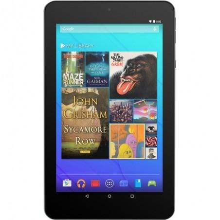 """Ematic tablette 7"""" Quad Core Android 7.1 Nougat 16GB avec étui et écouteur violet"""