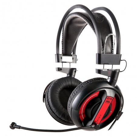 E-Blue Pro Gaming Cobra Series écouteur avec micro (rouge)