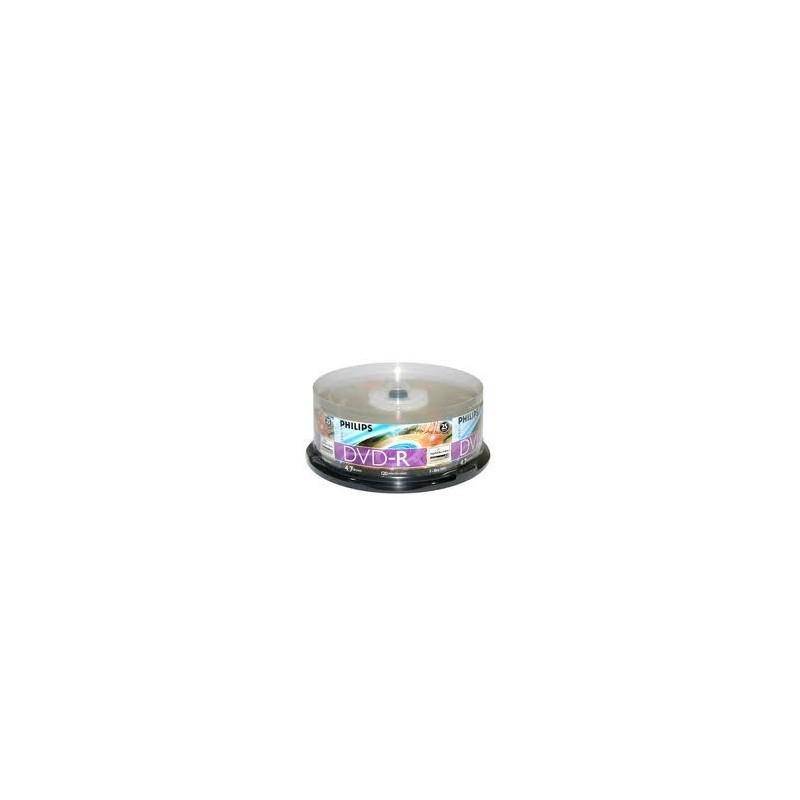 Philips DVD-R Light Scrib/16x/25un