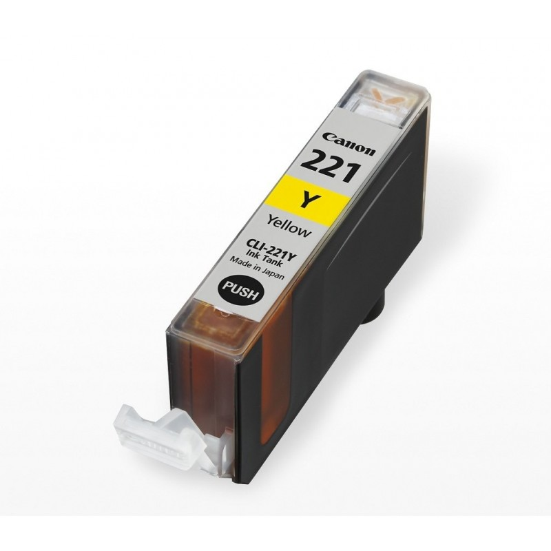 Cannon CLI-221 jaune compatible