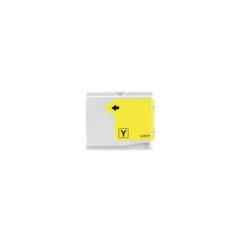Brother LC51Y compatible jaune