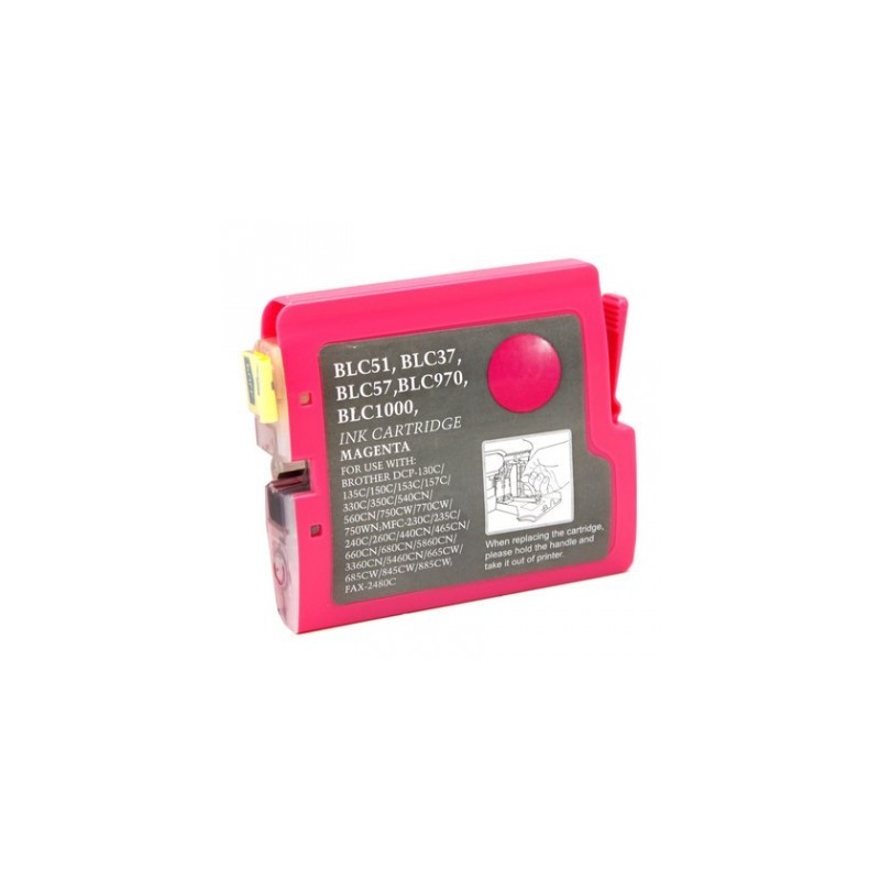 Brother LC51 compatible magenta