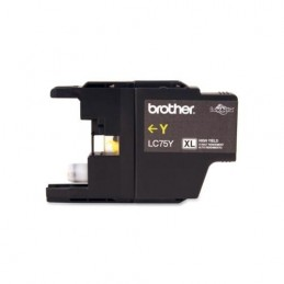 Brother LC75 compatible jaune