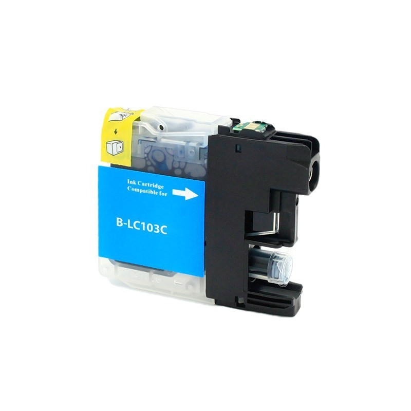 Brother LC103 compatible cyan