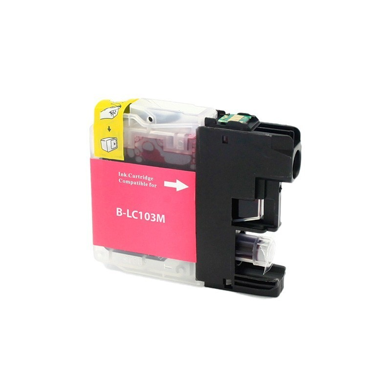 Brother LC103 compatible magenta