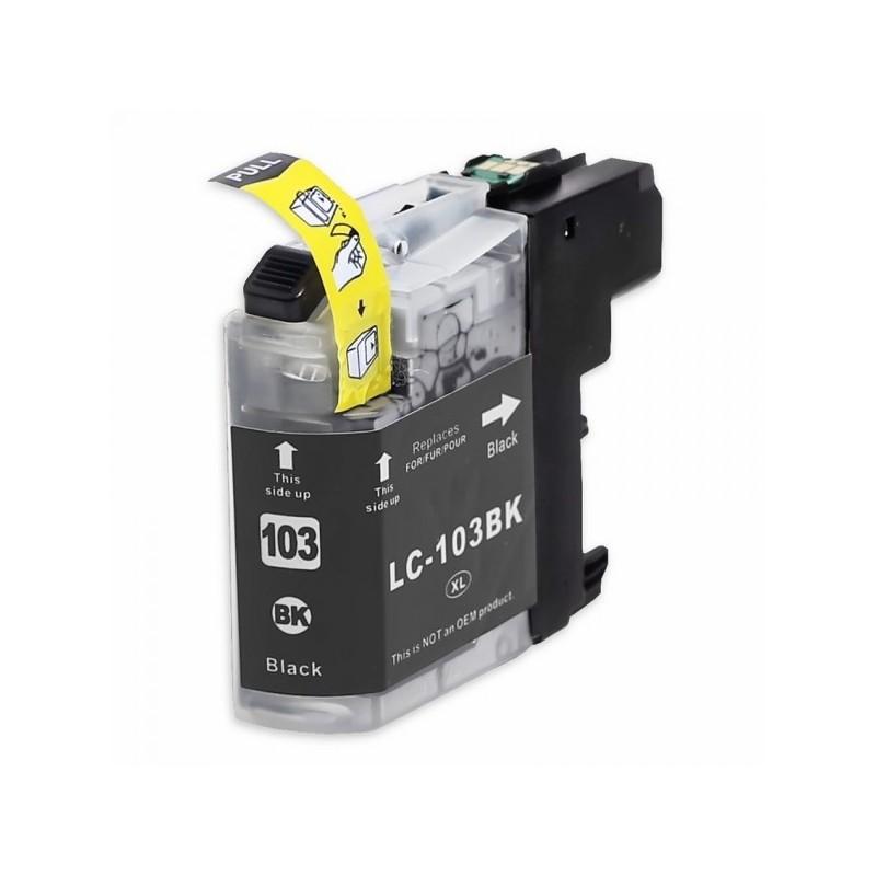 Maxcart Brother LC103XL BK compatible noir