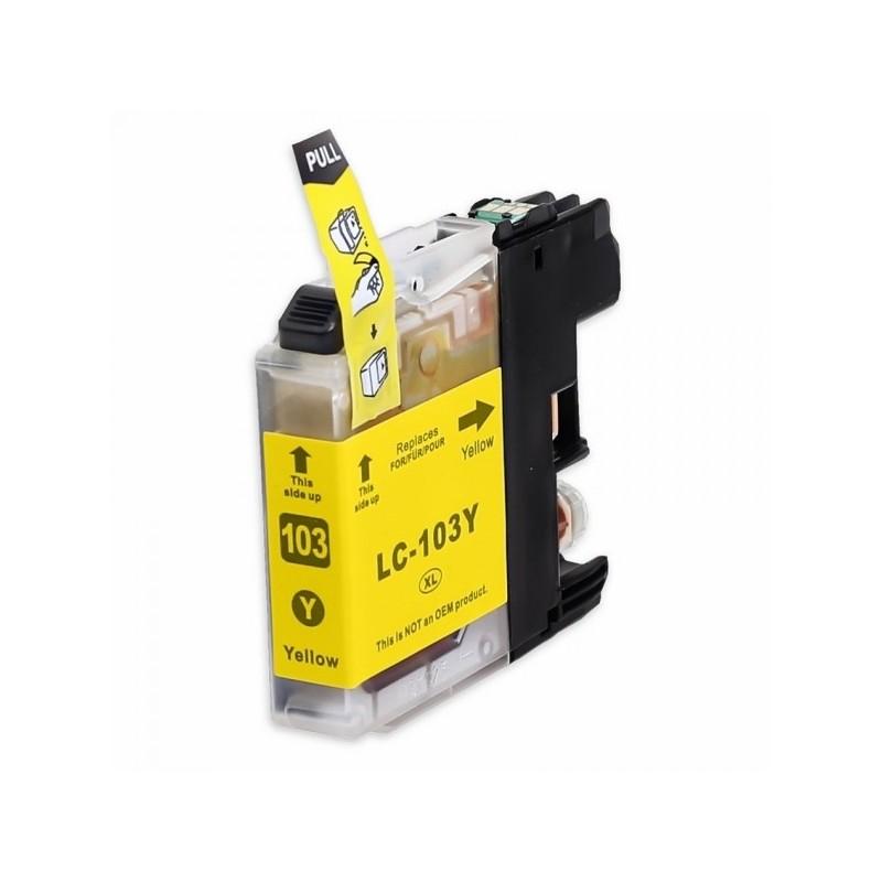 Maxcart  LC103XL Y compatible jaune