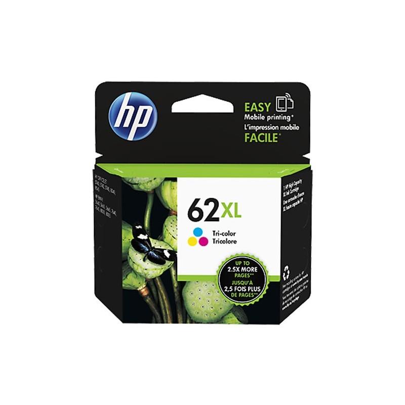 HP NO.62XL Couleur - Haut rendement