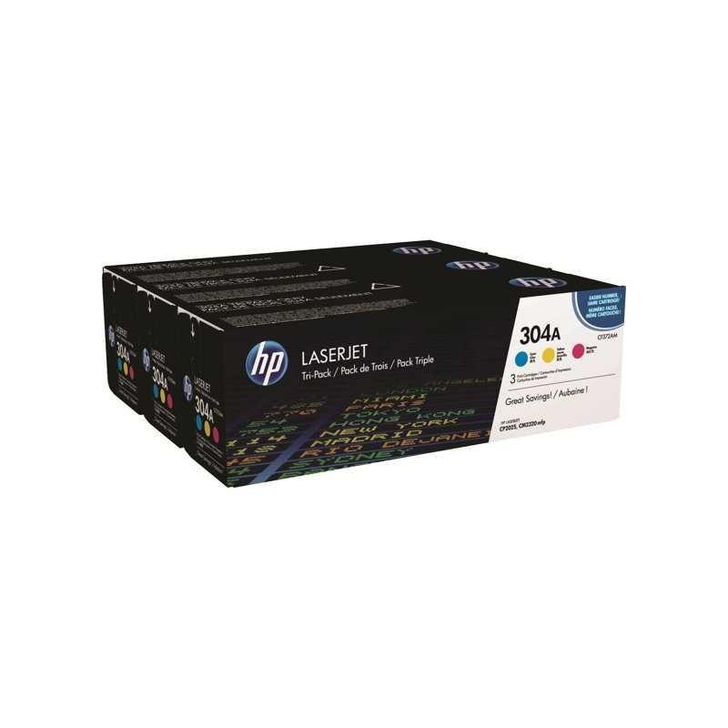 HP CF340A emballage triple cc531,cc532,cc533