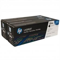 HP CLJ CP2025 DUAL PACK BLACK CARTRIDGE CC530AD
