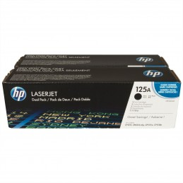 HP CB540AD dual pack cartouches noires