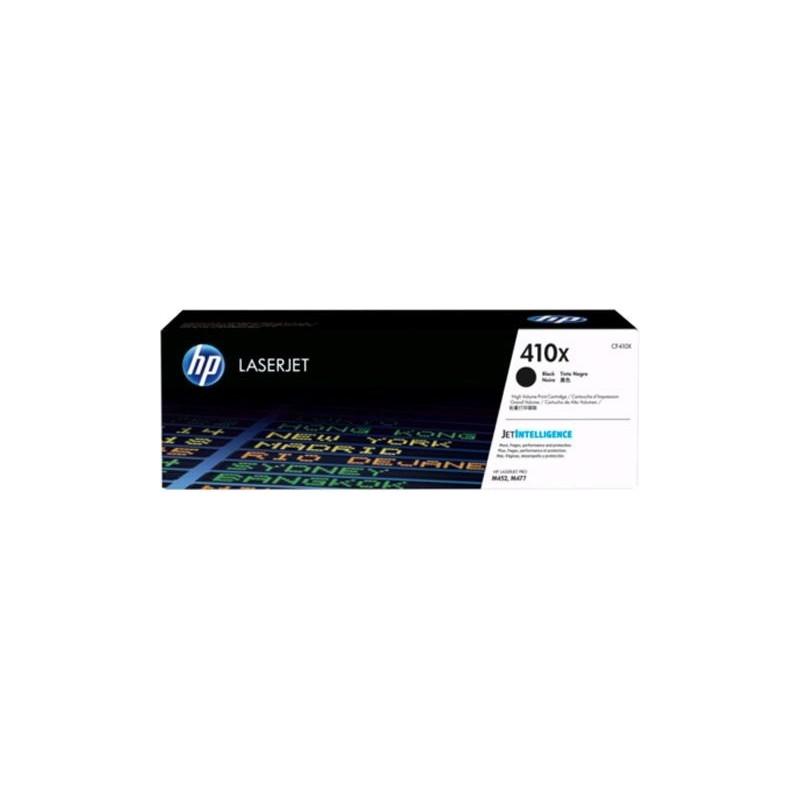 HP 410X High Yield Black Original LaserJet Toner Cartridge(6500 pages)(CF410X)