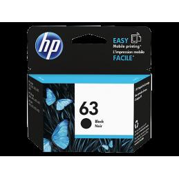 HP No.63 noir (F6U62AN)