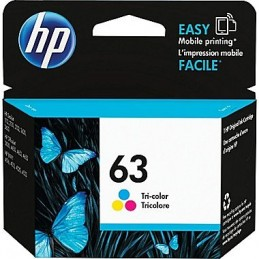 HP No. 63 couleur (F6U61AN)