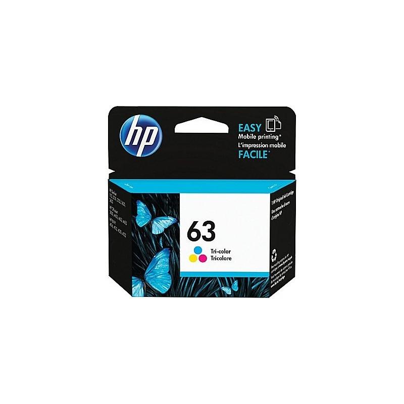 HP No. 63 couleur (F6U61AN)