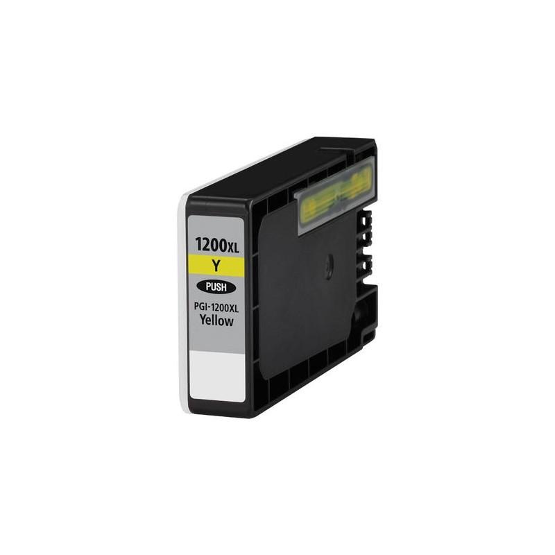 Maxcart Canon PGI-1200XL jaune haute capacité