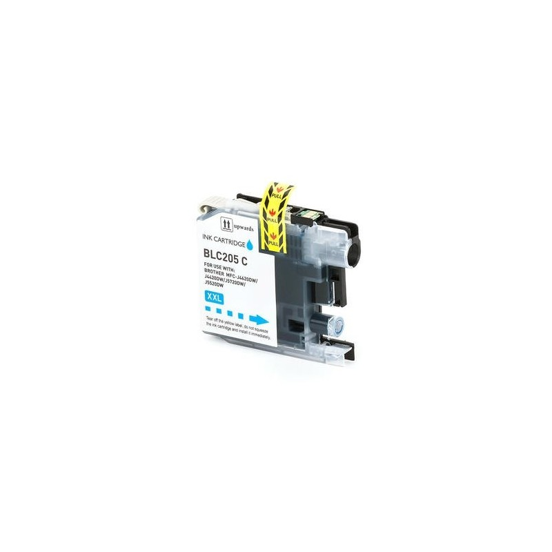 Maxcart Brother LC205XXL cyan compatible