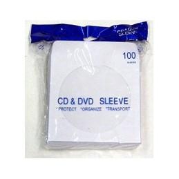 Enveloppe pour CD aver fenêtre/100un