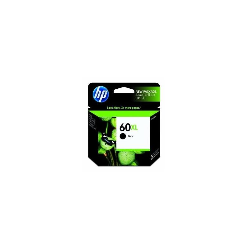 HP 60XL noir ( CC641WC),(+-600pages/12ml)