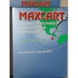 Maxcart Ensemble de remplissage pour cartouches HP 21, 27, 56, 92, 94, 96 et 98.