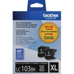 Brother LC103 noir, paquet double