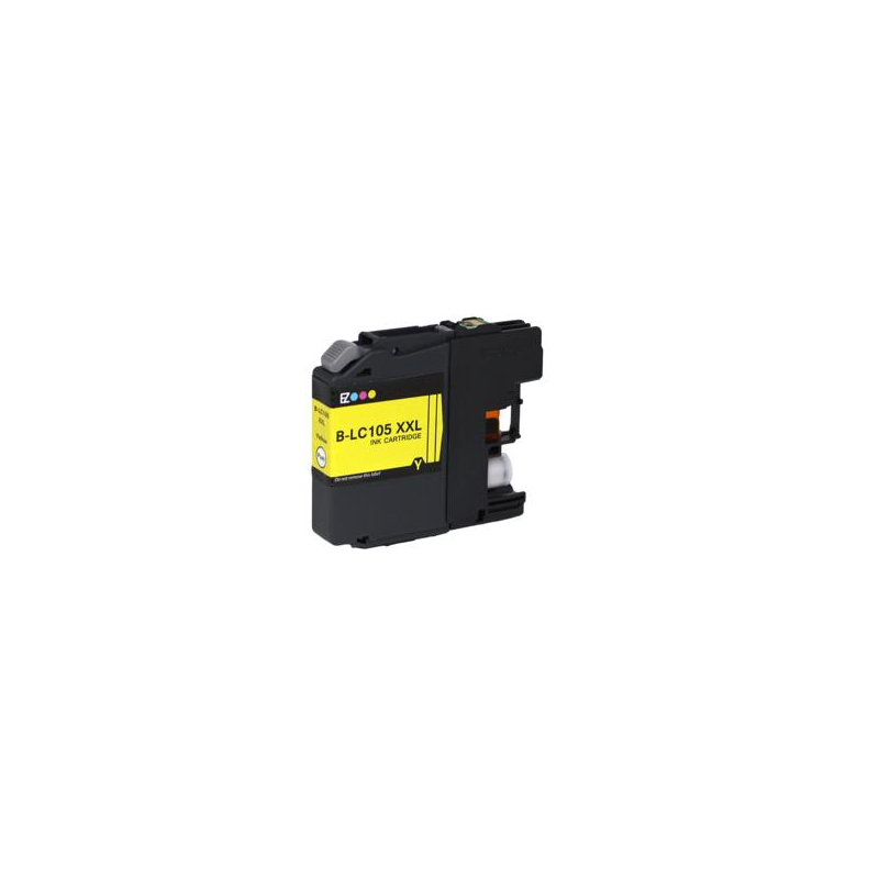 Maxcart Brother LC105XXL jaune compatible