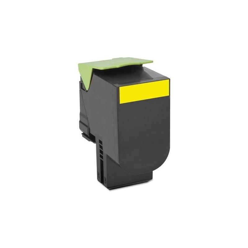 EncrEco Lexmark 701HY jaune compatible