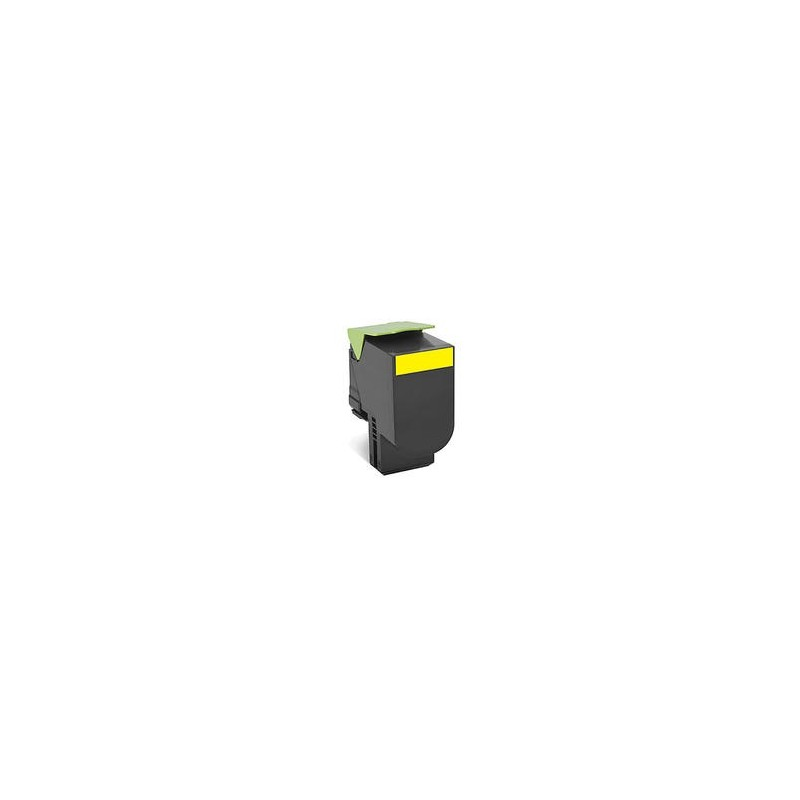 EncrEco Lexmark 801HY jaune compatible