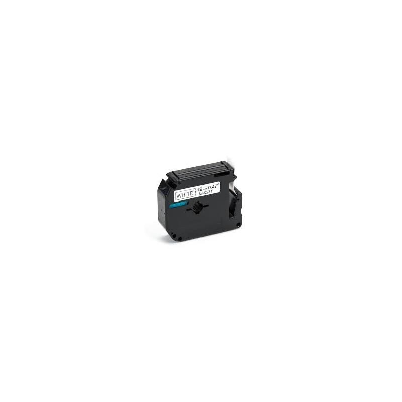 Encreco Brother MK231 compatible noir sur blans 12mmx8m