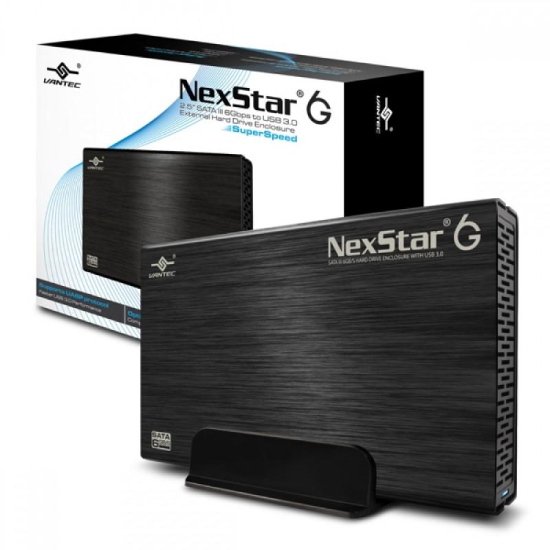 """Vantec NexStar boîtier pour disque dur 3.5""""  externe USB 3"""