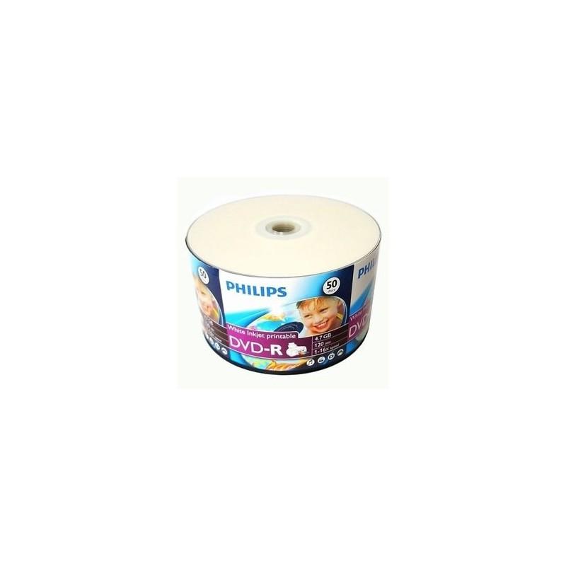 Philip DVD-R imprimable Hub/50un