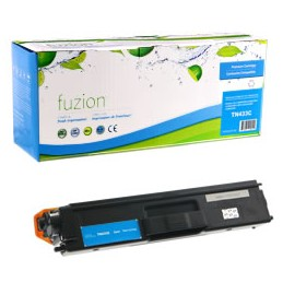 Fuzion Brother tn433 cyan