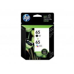HP No65 noir et couleur...