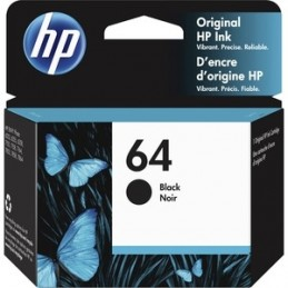 HP 64, N9J90AN régulière noir