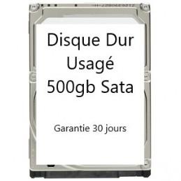 Disque dur Usagé de 500gb