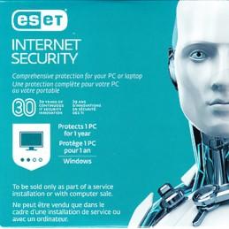 Eset Internet Securité 1 PC...