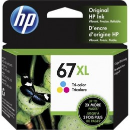 HP no 67XL couleur