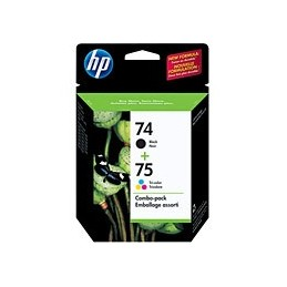 HP CC659F NO 74/75  COMBO PACK no74 noir-no75 clr