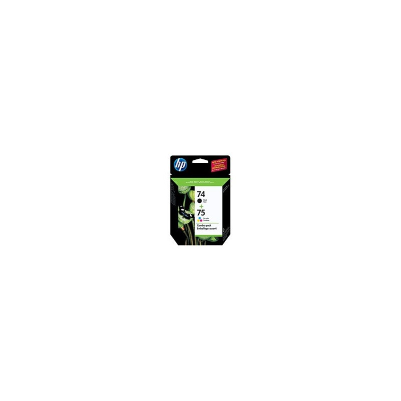 HP CC659F NO 74/75  COMBO PACK no74 noir-no75 clr