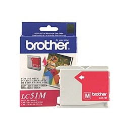 BROTHER  LC51M MAGENTA