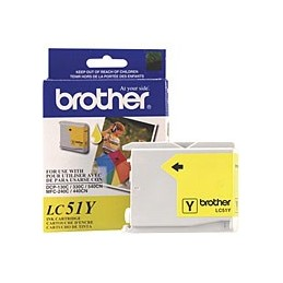 BROTHER LC51Y YELLOW