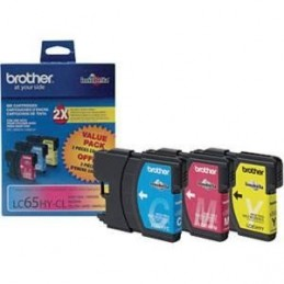 Brother LC653HYCS  LC65HYMS LC65YYS PQT 3 COULEURS