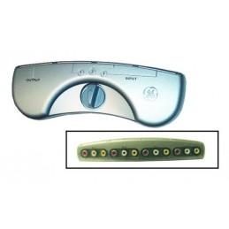GE Audio Video Commutateur 3 composantes-AV23237