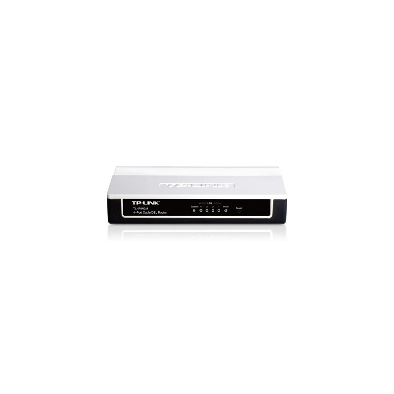 TP-Link Cable /DSL Router 4-Ports (TL-402M)