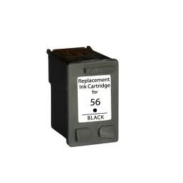HPC6656 cartouche noir no56 en retour de la vide seulement